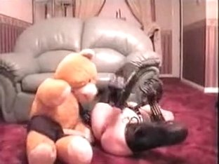 Bondage Wife Fucking With Bear
