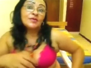 Lustful Black Brown Non-professional Cougar On Webcam Chat Session