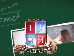 Innocenthigh - Schoolgirls Caught And Have A Hot Threesome