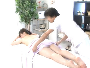 Creampie For A Horny Babe In Spy Cam Massage Video