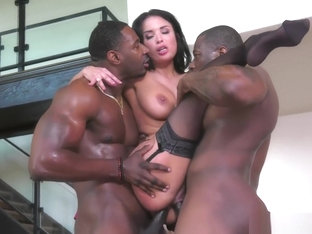 Anissa Kate Gets Dp By 2 Bbc In Front Of Cuckold