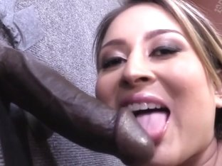 Bliss Dulce Fucks A Random Black Cock In A Strip Club