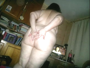 Hidden Camera #4 Fat Mom Bent Over (extended)