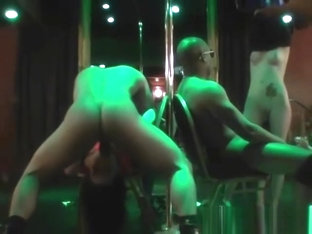 Horny Women Fucking Strippers In A Night Club