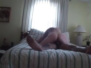 Ponytailed Brunette Has 69 And Cowgirl Sex On The Bed