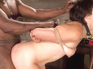 Exotic Ebony, Fetish Sex Movie With Best Pornstars Alice Kingsnorth And Jack Hammer From Dungeonsex
