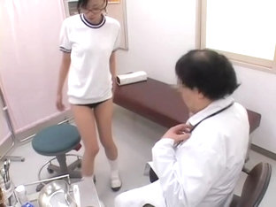 Kisha Exposes Her Dripping Tunnel Of Love In The Gyno Clinic