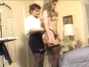 Blonde Prom Queen Sits On Lesbian Friend's Face In Bedroom
