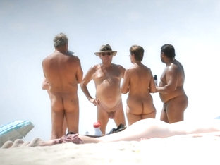 Nude Beach Couple 3