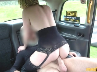 John & Valerie Fox In Butt Plug & Cock Stretch Babes Arse - Faketaxi