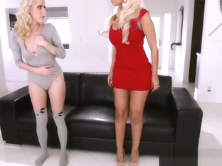 Busty Glam Milf Pussylicked By Gorgeous Teen