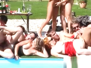 Bicurious Group Fuck Train Orgy