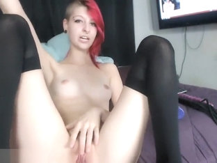 Redhead Is Masturbating In This Video
