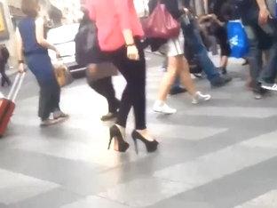High Heels In Paris 06  Endless Black Heels