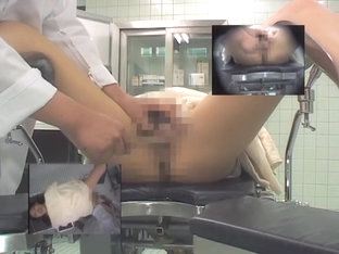 Girl Is On Medical Hidden Cam Stretched And Examined