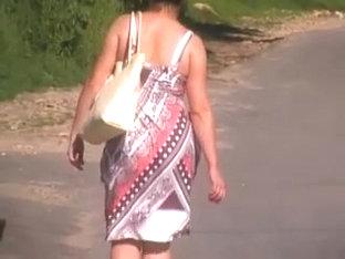Russian Booty In Dress