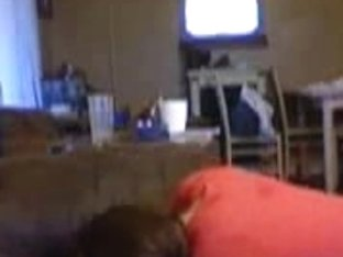 Homemade Porn Video Of A Horny Girlfriend Giving Head