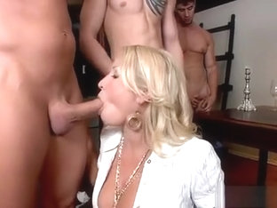 Nasty Cfmn Session With Horny Milf Jerking Off A Big Rod
