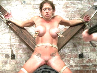 Felony In Felony - Amazing Milf Squirter - Hogtied