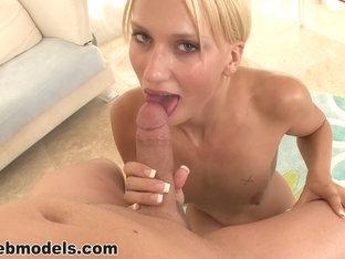 Exotic Pornstar In Hottest Pov, Blowjob Adult Movie