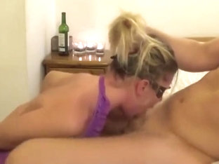 Incredible Tart Is Making A Perfect Blowjob