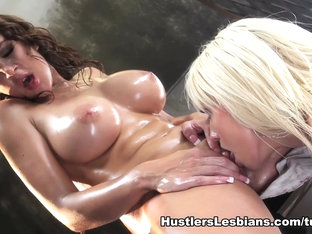 Crazy Pornstar In Horny Blonde, Lesbian Sex Movie