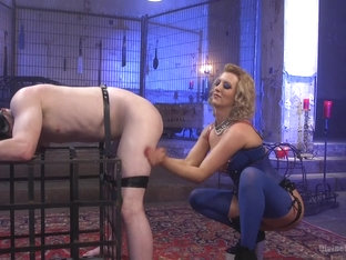 Slave Fluffy & Cherry Torn In Inhale That Femdom Ass - Divinebitches