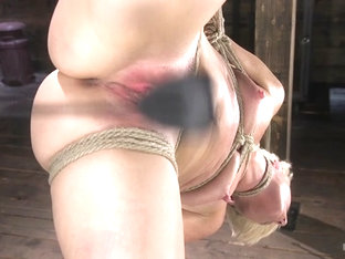 The Pope & Helena Locke In Blonde Buff Milf Helena Locke Made To Cum In Tight Rope Bondage - Hogti.