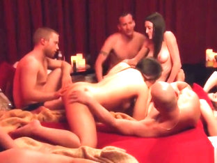Steamy Hot Interracial Swinger Party Between Friends