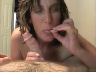 Milf Sucks And Rides Cock POV On The Bed