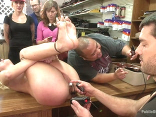 Bdsm fetish public humiliation monster anal