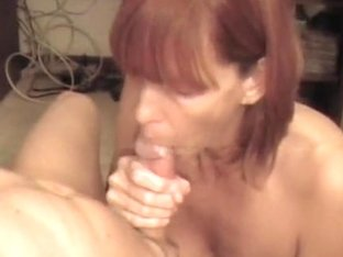 Mature Redhead Fulfilling Her Duty To Her Husband