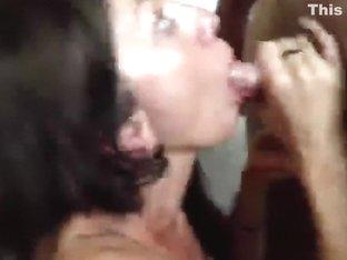 Cum Drinking Wench