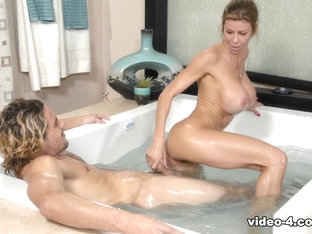 Alexis Fawx & Tyler Nixon In Nuru Family Business, Scene #01 - Nurumassage