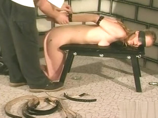 Tied Up And Coercive To Endure Bdsm Action While Tied Up
