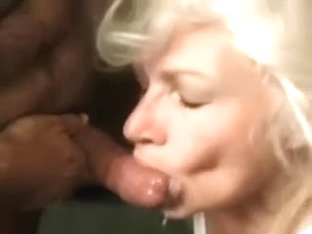 Voracious Mature Whore Gets A Load Of Cum In Her Face Hole