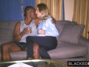 Blackedraw Girlfriend Surprises Her Bf By Fucking The Biggest Bbc In The World