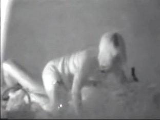 Voyeur Sex Clip Of The Amateur Couple Having Sex At Night