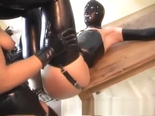 Petra Judith And Asya In Their Latex Strapon Fucking And A Milk Bath