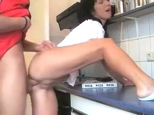 Delivery Guy Paid With Pussy