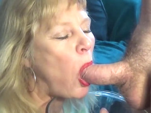 Mature Loves Piss And Cum