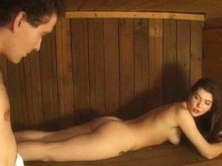 Russian Fuckfest In Sauna