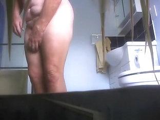 Mature In The Bathroom