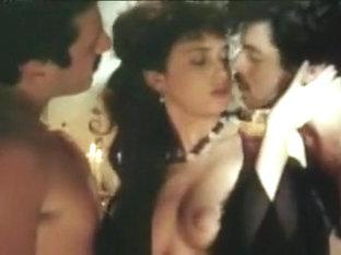 Dolce Pelle Di Angela 1986 (threesome Erotic Scene) Mfm
