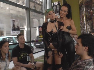 Disobedient Slut Gets Publicly Punished - Publicdisgrace