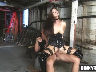 Brunette Slave Anal And Facial