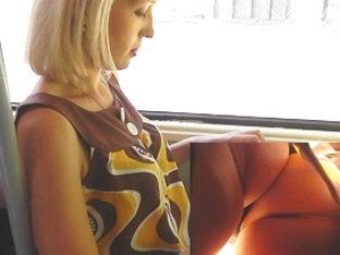 Cutie Let Me Spy Her Lustful Bus Upskirt