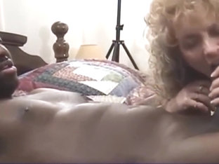 Curly Blonde Slut Gets Fucked