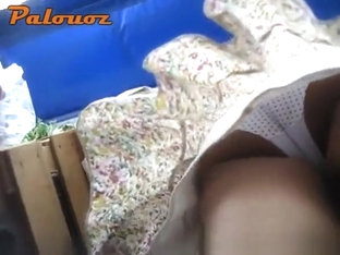 Upskirt In Open Market