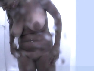 Chubby Busty Woman With Fat Shaved Pussy